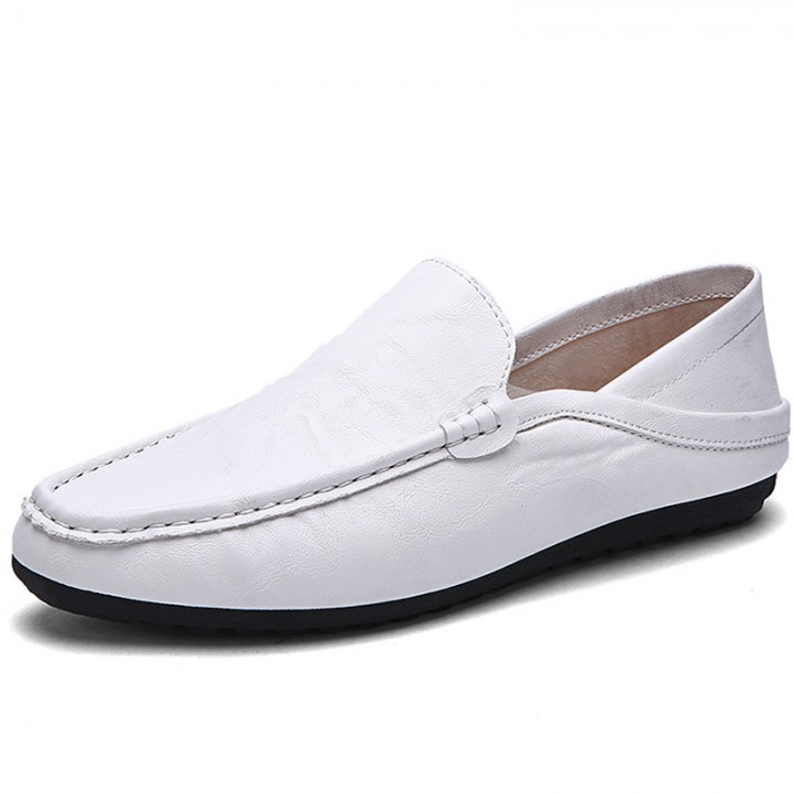 Ailisen Handmade Driving Shoes Man Casual Shoes Soft Breathable Loafers