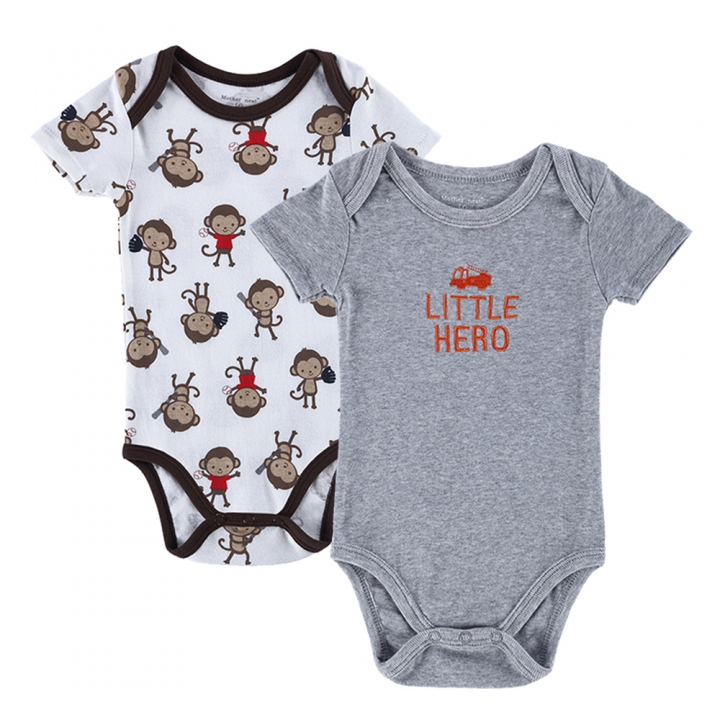 4a2db9fc1 Kilimall  2 PCS LOT Baby Romper Boy Girl Cartoon Animal 0-12M ...