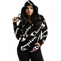 Loose Women Hoodies Sweatshirts Female Sport Casual Coat black S