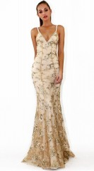 Strapless Sequined Summer Dress Women  Backless Maxi Party Dress Vintage Slim Mermaid Desses Female vestidos