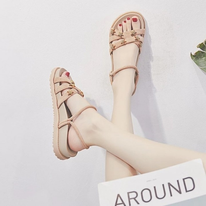 5b6f1ef18 Kilimall  Summer Fashion Star Student Platform Girls Sandal khaki 37 ...