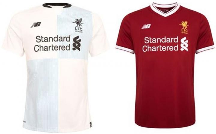 The New Liverpool Football Club REPLICA Football Jersey Shirts 2017 18 Away  Small ed2d7103f