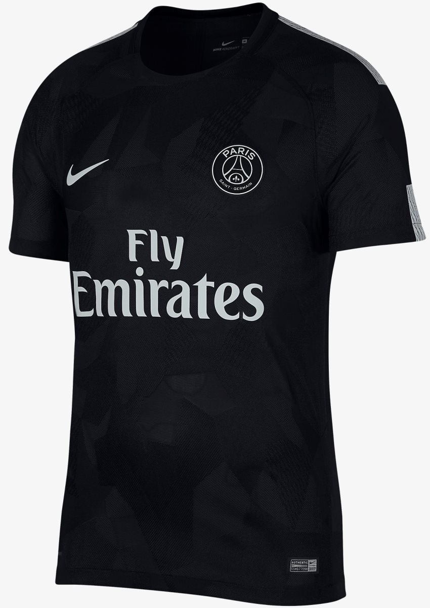 watch 1b260 372b5 The New Paris Saint-Germain PSG REPLICA Football Jersey Shirts 2017/18 3rd  Jersey XL