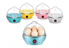 Electric 7 Pc Egg Cooker Boiler Steamer Poacher Multicolour 7 Piece