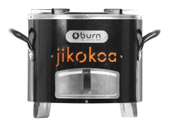 Mordern Charcoal Improved Clean Jiko Jikokoa Stove Black 1 Piece