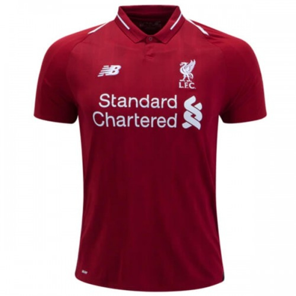 low priced 04032 88ff7 Liverpool Home REPLICA Football Jersey Season 2018-2019