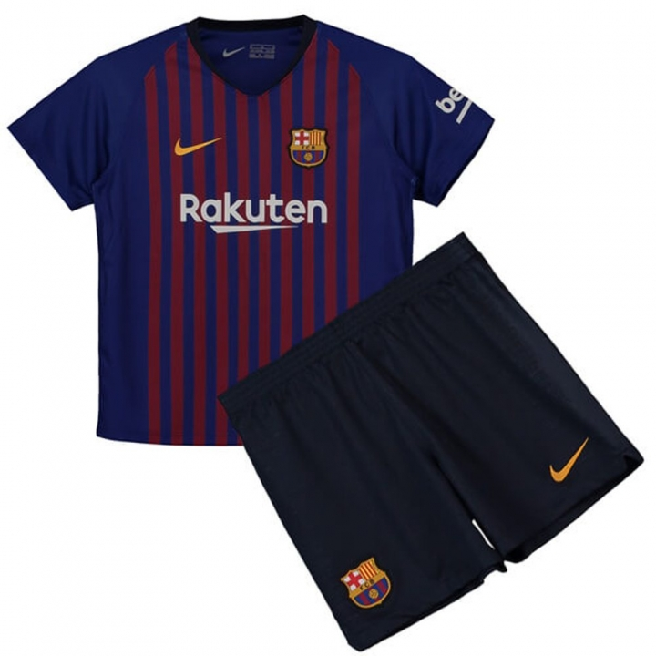 100% authentic 1fed5 19452 The New 2018-2019 Kids/Children Barcelona Home Kit REPLICA Football Jersey  & Short Home #22 (8 years) Polyester