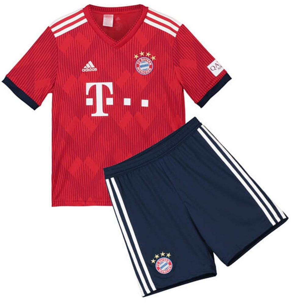 new concept 06e79 84a73 The New 2018-2019 Kids/Children Bayern Munich Home Kit REPLICA Football  Jersey & Short Home #22 (8 years) Polyester