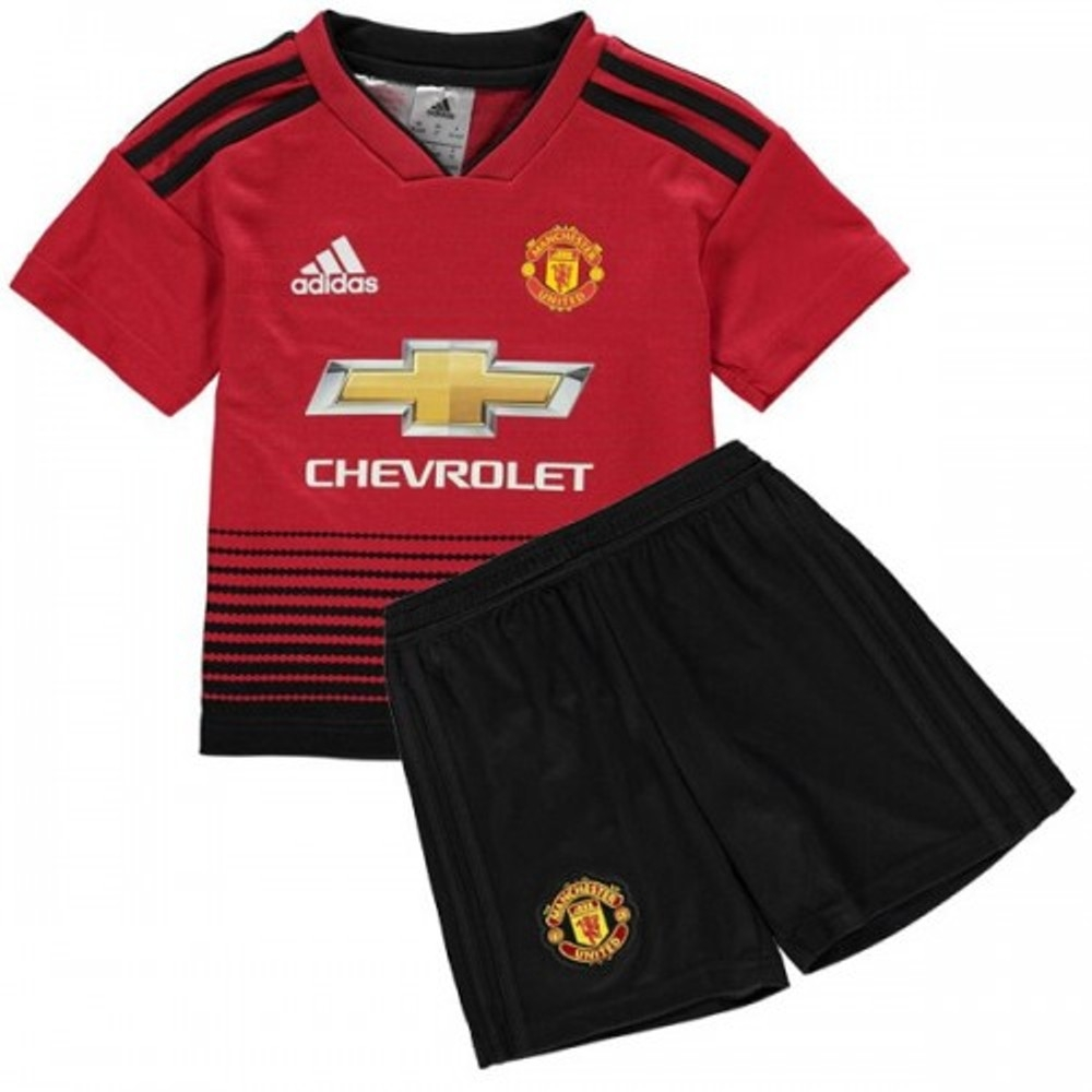 purchase cheap e5419 2d2c4 The New 2018-2019 Kids/Children Manchester United Home Kit REPLICA Football  Jersey & Short Home #26 (12-13 years) Polyester