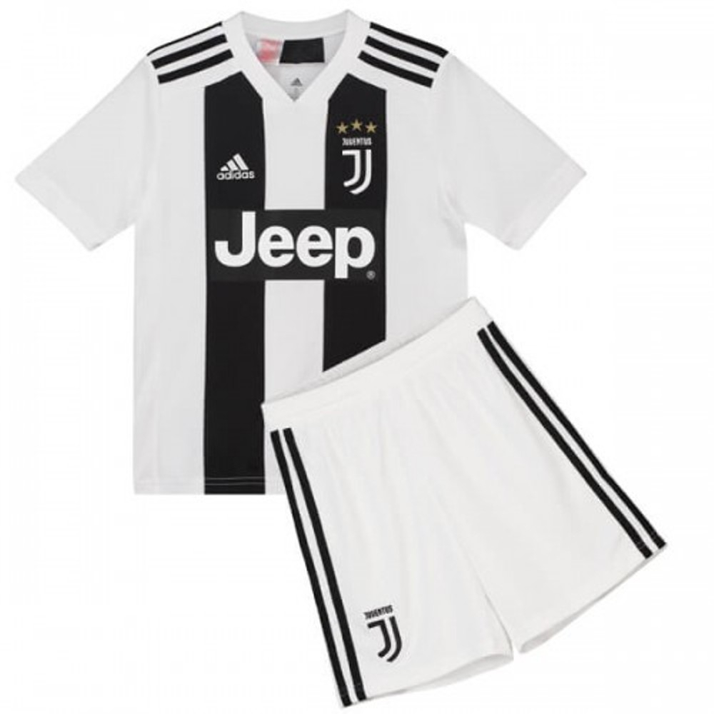 info for c1af1 6dd67 The New 2018-2019 Kids/Children Juventus Home Kit REPLICA Football Jersey &  Short Home #18 (4-5 years) Polyester