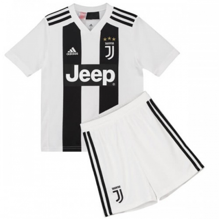 info for cd9a5 5d003 The New 2018-2019 Kids/Children Juventus Home Kit REPLICA Football Jersey &  Short Home #18 (4-5 years) Polyester