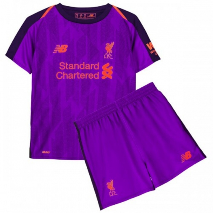 new product 3a6fb 4893d The New 2018-2019 Kids/Children Liverpool Away Kit REPLICA Football Jersey  & Short Away #26 (12-13 years) Polyester