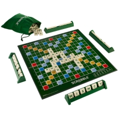 Universal Learning & Educational Scrabble Board Game & Toys Multicolour Medium