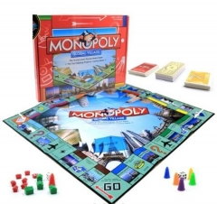 Classic Monopoly Global Village Game Board Toys & Games multicolour Medium