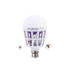 Mosquito Killer Lamp 15 Watt Energy Saving LED Bulb White n/a 15W