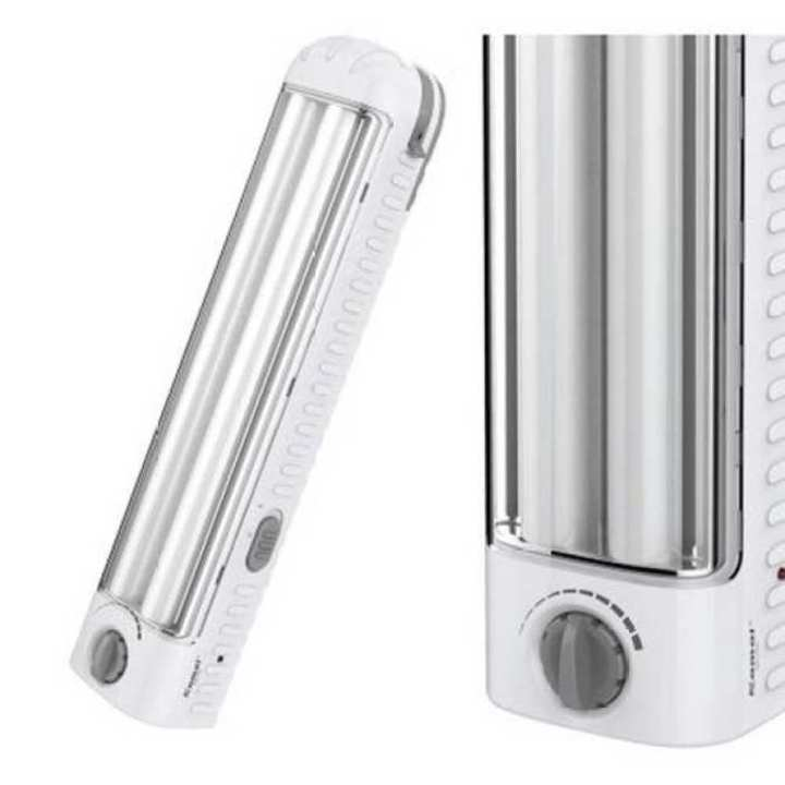 Portable Lighting Rechargeable Flashlight Emergency Light White 43cm 7.2W. 2 side 14.4W