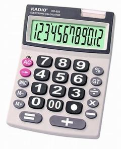Dual Power 12 Digit Display Electronic Desktop Calculator