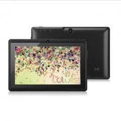 Android 4.4 OS Quad Core 7 inch Tablet Tablets  WIFI Bluetooth MID Dual Cameras Run Fast black