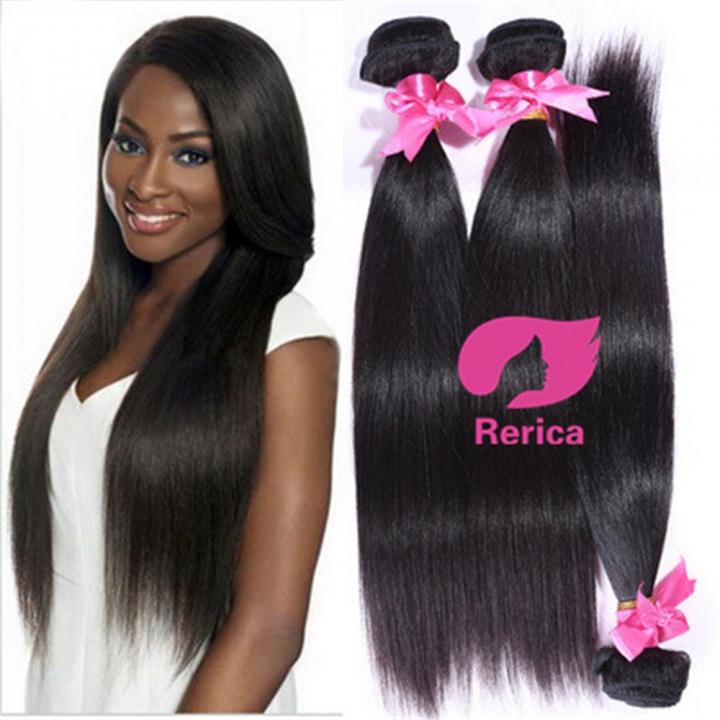 Kilimall Malaysian Straight Hair Human Hair Bundles 1 Piece Natural