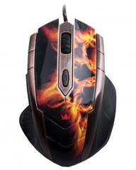 CROWN WIRED OPTICAL GAMING MOUSE (CMXG-607)