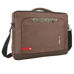 CROWN LAPTOP CARRIER CASE HYMN SIZE: 15.6 (Brown) (CCH1115BN)