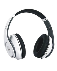 Crown Bluetooth Stereo Headset (White) (CMBH-9288w)
