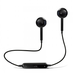 Bluetooth Earphone Sport Running With Mic Earbud Wireless Earphones Bass Bluetooth Headset black