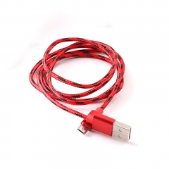 Fast Charge USB Data Cable for Infinix Tecno Samsung Android USB Charging Cord RED 1M