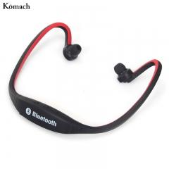 Sport Wireless Bluetooth Headset Handsfree Earphone Running Stereo Bluetooth Headphone Black+Red