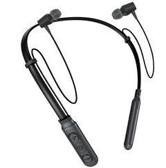 Wireless Bluetooth Headphones Neckband Hands Free Sport Stereo Headset Earphone black