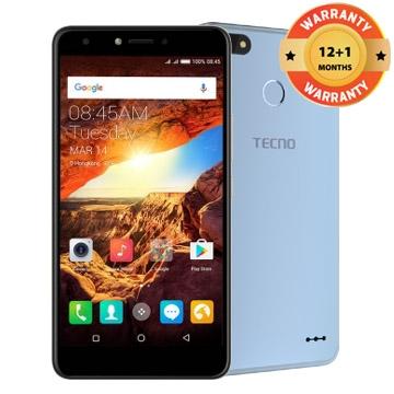TECNO Spark K7,16+1GB, 13+5MP, 5.5 Inch, Hios 2.1, 3000mAh, Smartphone Blue