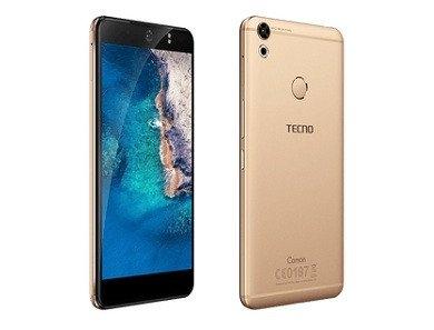 TECNO Camon CX Air - 5.5inch,16GB+2GB, 13MP Camera - 4G/LTE - Dual SIM gold