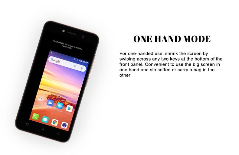 "Itel A32F 10TH,5"",8GB,smart phone rose gold 9"