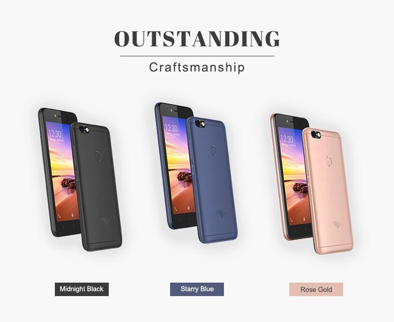 "Itel A32F 10TH,5"",8GB,smart phone rose gold 12"