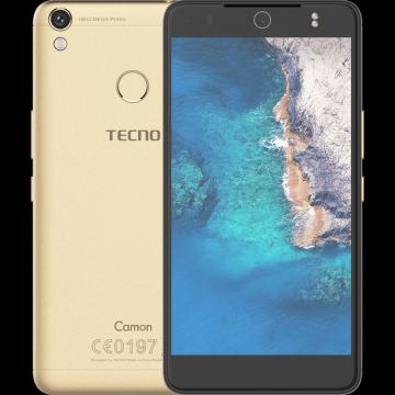 "TECNO Camon CX Air - 5.5"" - 16GB - 2GB RAM - 13MP Camera - 4G/LTE - Dual SIM gold"