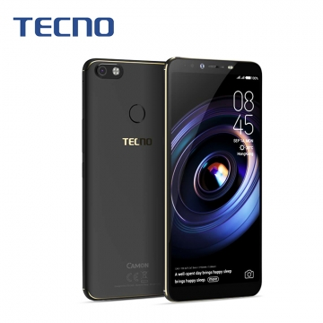 "TECNO SPARK2, 6.0""HD,16GB+1GB, 13MP+8MP, Face Unlock, Portrait Mode, Smart Phone Midnight Black"