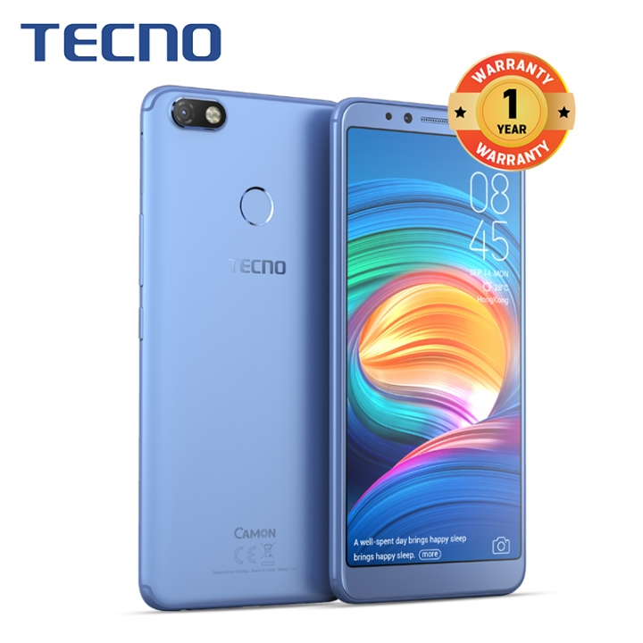 "CAMON X, 16GB+3GB, 6.0"" HD, 3750mAh, 16MP+20MP, 4G, Fingerprint, Smart Phone blue"