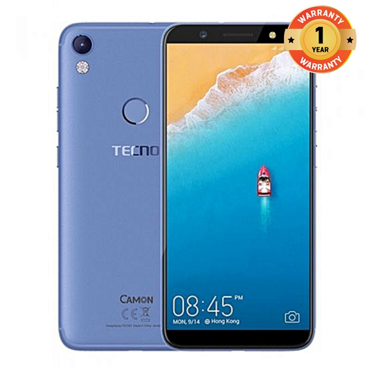 TECNO Camon CM, 5.7'', 2+16GB, 13+13MP, Fingerprint , 3000 mAh, 4G LTE,   Smartphone blue