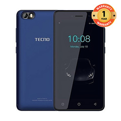 TECNO F1 - [8GB+1GB RAM] - 5.0 Lowest price, Official authentic, Quality assurance Dark Blue