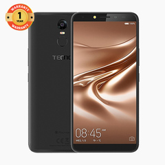 TECNO Pouvoir 2 - 16GB+3GB RAM - 6.0'' HD+ - 8MP+13MP - 4GLTE - 5000mAh - Face ID - Dual SIM midnight black