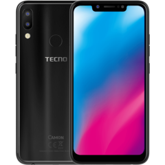 TECNO CAMON 11 - 32 GB + 3GB RAM (Dual SIM) -6.2'' HD+ Super FULLVIEW-13MP+ 2MP-Face ID black