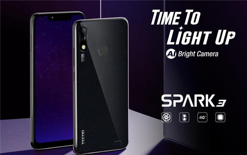 TECNO Spark 3, 6.2