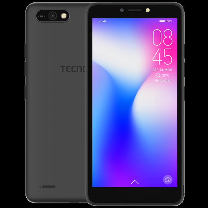 TECNO POP 2  -8GB+1GB RAM-5.5 inch FULLVIEW-8MP-Touchscreen midnight black