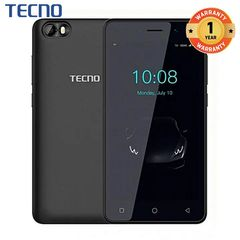 TECNO F1 - [8GB+1GB RAM] - 5.0 Display, Dual SIM Smartphone New Smart Phone ELEGANT BLACK