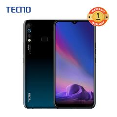 Tecno Camon 12 ,64GB ROM + 4GB RAM, 16MP+2MP+8MP Rear Camera, 16MP Front Camera Smartphone Dark Jade
