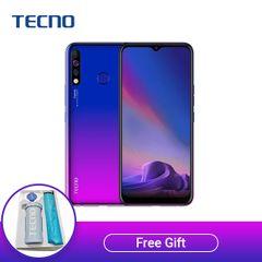Tecno Camon 12 ,64GB ROM + 4GB RAM, 16MP+2MP+8MP Rear Camera, 16MP Front Camera Smartphone Dawn Blue