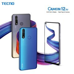 (Limited free gift)Tecno Camon 12 Air Phones 6.55