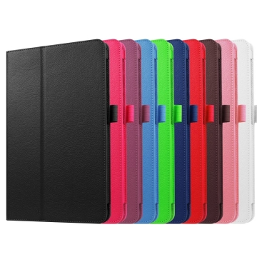 """10.1"""" PU Leather Case Foldable Slim Cover for Samsung Galaxy Tab A 10.1 T580N green 10.1"""