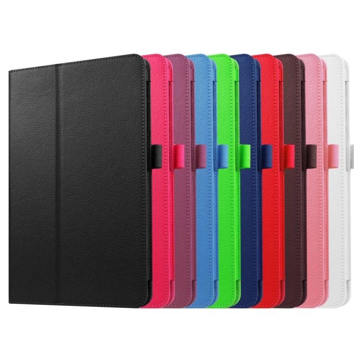 "10.1"" PU Leather Case Foldable Slim Cover for Samsung Galaxy Tab A 10.1 T580N orange 10.1"