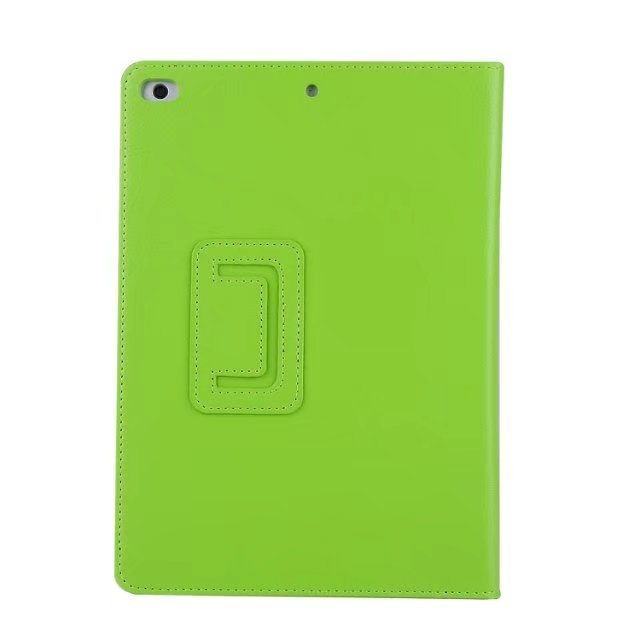 "9.7"" Smart Folding Cover Soft PU Leather Tablets Case for Apple iPad Pro 9.7 green 9.7"